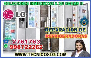 Tu refrigeradora falla? servicio tecnico reparación lg