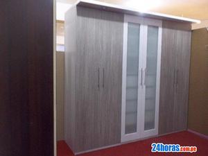 Muebles en melamina closet, cocinas y mas
