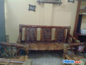 Remato vitrina de madera. bar y juego de muebles de bambu
