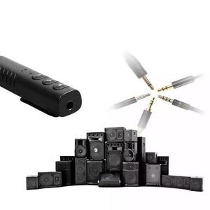 Adaptador bluetooth estereo autoradio recargable y audifonos