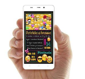 Invitación Tipo Pizarra Digitales Whatsapp Soy Luna Ladybug