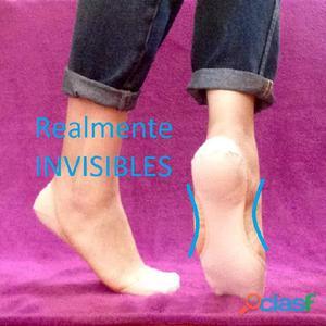 Pack de 3 medias invisibles salvapiés, calcetines