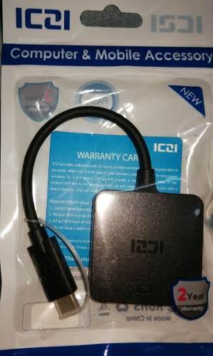 ADAPTADOR HDMI A TIPO C 4K PARA SAMSUMG S8S9 HUAWEI PRO P20 segunda mano  Perú