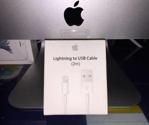 Cable lightning 2 metros apple original caja sellada