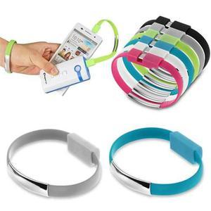 Cable micro usb pulsera para smartphone nuevo