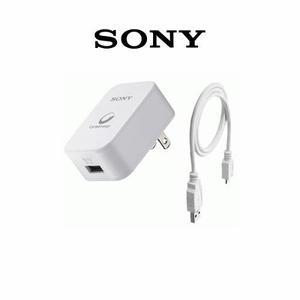 Cargador sony + cable micro usb cp-ad2 original
