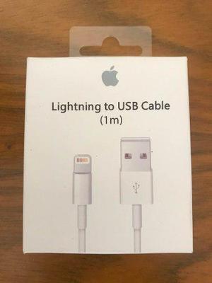 Original apple cable usb lightining en caja nuevo sellado