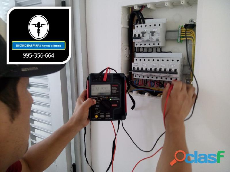 Electricistas fugas de corriente 995 356 664 electricistas con megometro, emergencia, urgencia