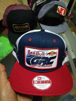 Gorra red bull new era global rally cross trucker nueva df18567cb74