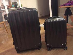 Maleta De Viaje + Carry On Crepier