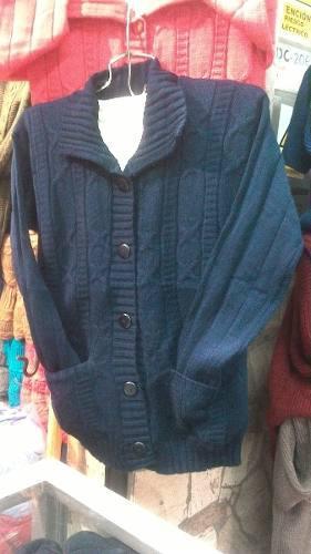 a591b4c8649a Mujer chompa tejida forrada por dentro con lana de carnero.
