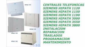 Central telefonica siemens hipath 1150 servicio tecnico