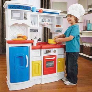Cocina juguete gourmet prepn niño niña step2