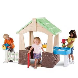 Little tikes deluxe home & garden playhouse