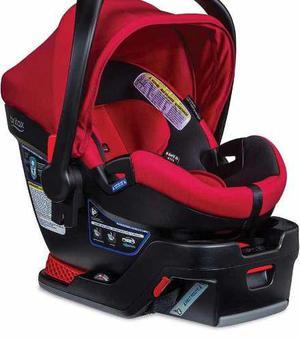 Britax - asiento de bebé para auto rojo marca americana