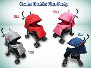 Coche bastón para bebé 3 posiciones exclusivo nuevo caja