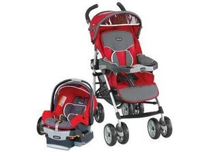 Coche y silla de auto para bebe chicco trevi
