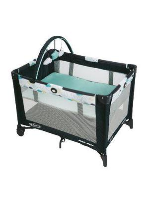 Graco - corral cuna pack and play go base stratus