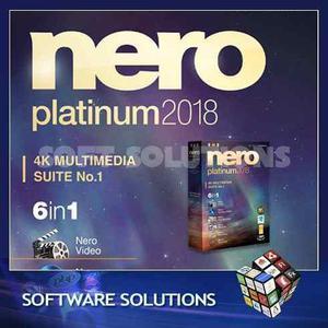 Software nero 2018 - la suite mas completa de grabacion