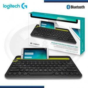 Teclado bluetooth p/tablet pc smartphone logitech k480 origl