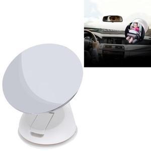 Auto car 360 grado ajustable espejo retrovisor seguridad