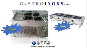 Gran liquidacion de cocinas industriales y freidoras automat