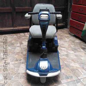 Scooter eléctrico marca pacesaver (silla d ruedas