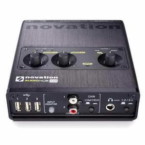 Interfaz novation audiohub 2x4 (como nuevo)