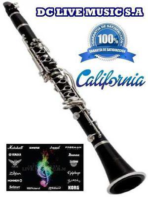 Nuevo, clarinete marca california, calidad