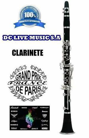 Nuevo, clarinete marca grand prix paris france, calidad indi