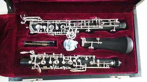 Oboe Mas Boquilla De Caña Instrumento Musical Musica