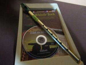 Tin whistle - waltons metal dorado - re/d (pack)