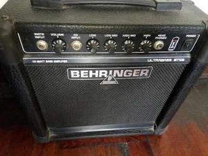 Amplificador de bajo behringer ultrabass bt108 de 15 watts