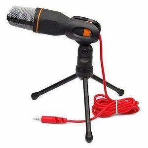 Microfono + tripode youtuber pc karaoke videos juegos chat