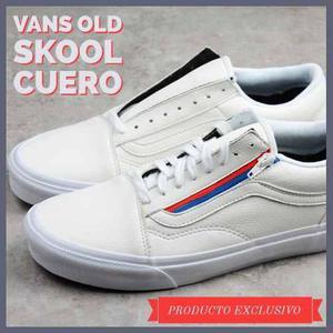 vans old skool blancas hombre