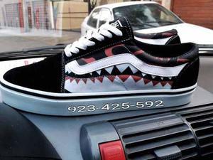 Zapatillas vans old skool shark