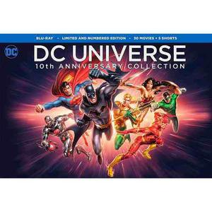 Dc universe 10th anniversary collection bluray