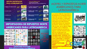 Importadora de repuestos norte americanos para latinoamerica