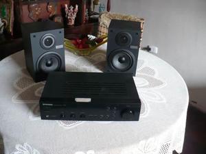 Amplificador pioneer con parlantes sony
