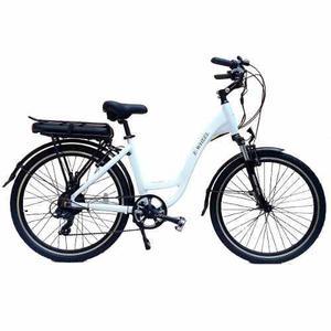 Bicicleta eléctrica e-wheel. vel 26km/h, autonomia 70km