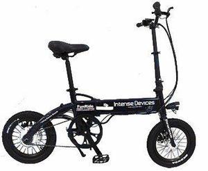 Bicicleta eléctrica plegable a1-s,aro 14,display lcd