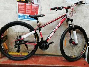 Bicicleta firefox con accesorios shimano