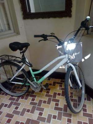 Bicicleta oxford vintage con aves usada