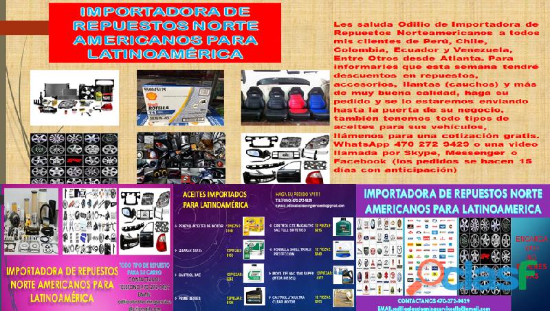 Repuestos para latinoamerica (importados)