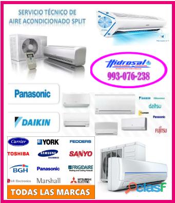 Técnicos de aire acondicionado y mantenimientos 993 076 238