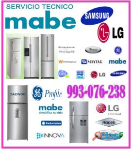 Técnicos de refrigeradoras mabe y mantenimientos 993 076 238