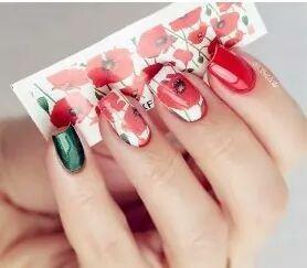 50 Planchas Para Uñas Diseño Tatuaje Manicure Lámina En