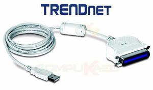 Cable adaptador de paralelo a usb trendnet tu-p1284 p/ pc