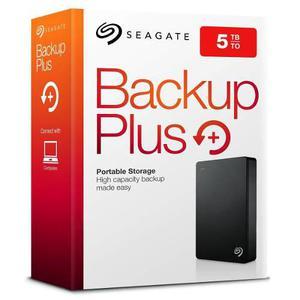 Disco duro externo seagate 5tb backup plus 2.5