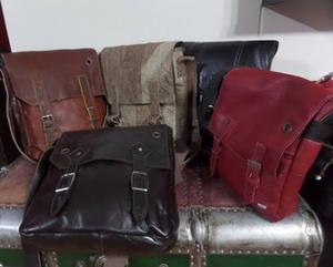 22016032a G25 maletin laptop morral de cuero natural bandolera en Lima ...